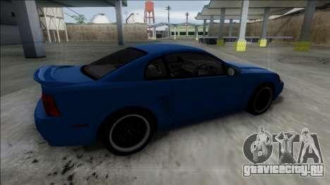 2003 Ford Mustang для GTA San Andreas вид справа