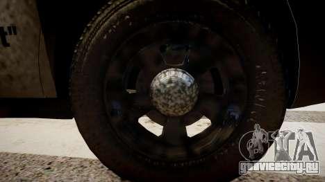 Dodge Charger Police для GTA 4 вид сзади