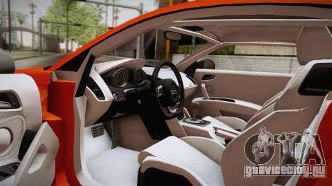 Audi Le Mans Quattro 2005 v1.0.0 YCH PJ для GTA San Andreas вид изнутри