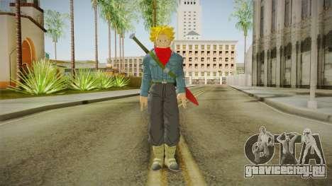 DBX2 - Trunks SSJ2 для GTA San Andreas второй скриншот
