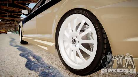 Carlsson Aigner CK65 RS Blanchimont 2008 для GTA 4 вид сзади
