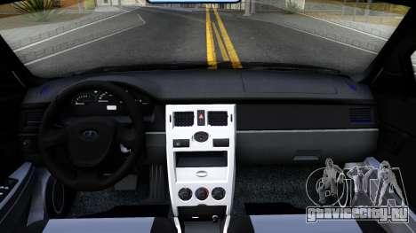 ВАЗ 2172 для GTA San Andreas вид изнутри
