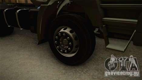 Iveco Trakker Hi-Land 4x2 Cab Low v3.0 для GTA San Andreas вид сзади