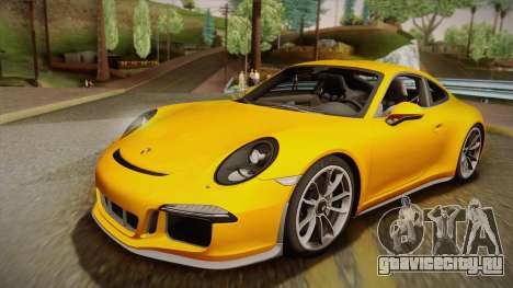 Porsche 911 R 2016 для GTA San Andreas