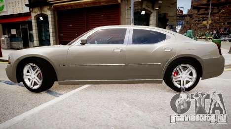 Dodge Charger RT 2007 для GTA 4 вид сзади слева