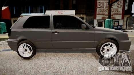 Volkswagen Golf 3 GTI для GTA 4 вид слева
