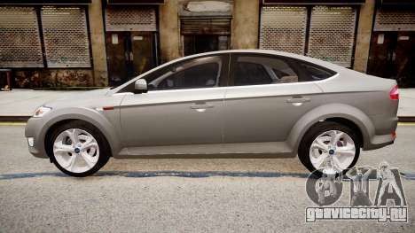 Ford Mondeo 2009 для GTA 4 вид слева