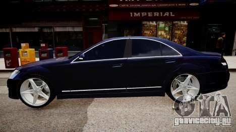 Mercedes Benz Brabus SV12 R 63 Biturbo W221 для GTA 4