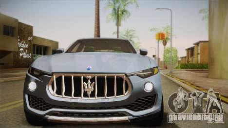 Maserati Levante 2017 для GTA San Andreas вид сбоку