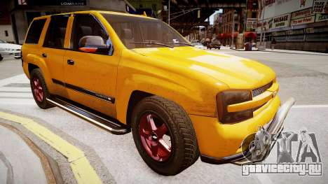 Chevrolet TrailBlazer v2.0 для GTA 4