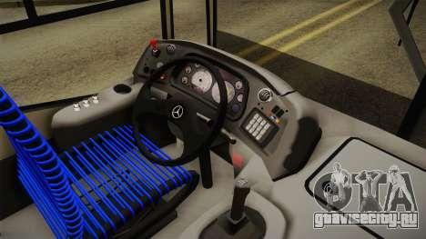 Metalpar Tronador 2 ERSA для GTA San Andreas вид изнутри
