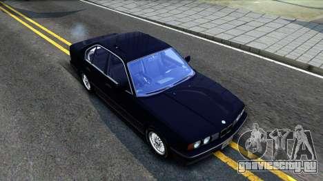 BMW E34 535i для GTA San Andreas вид справа