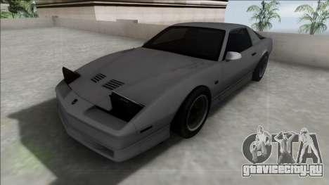 Pontiac Firebird Trans Am для GTA San Andreas