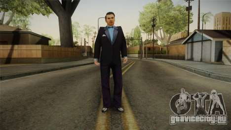 Mafia - Sam Normal Suit для GTA San Andreas второй скриншот