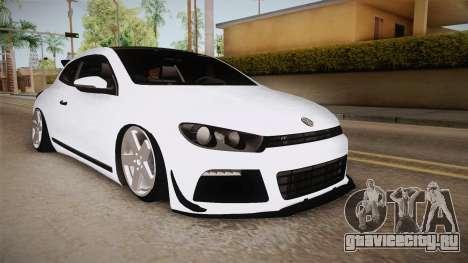 Volkswagen Scirocco Stance Works для GTA San Andreas вид справа
