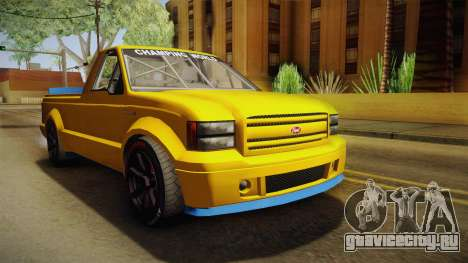 GTA 5 Vapid Sadler Racing для GTA San Andreas