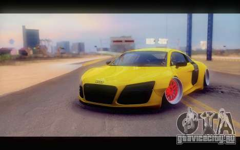 Audi R8 V10 Liberty Walk Performance для GTA San Andreas