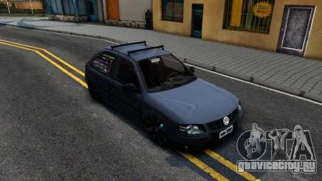 Volkswagen Gol G4 для GTA San Andreas вид справа