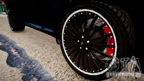 BMW X6 Hamann v2.0 для GTA 4 вид сзади