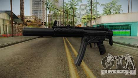 MP5 SD3 для GTA San Andreas
