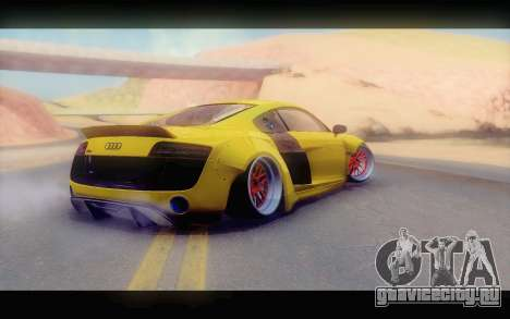 Audi R8 V10 Liberty Walk Performance для GTA San Andreas вид слева