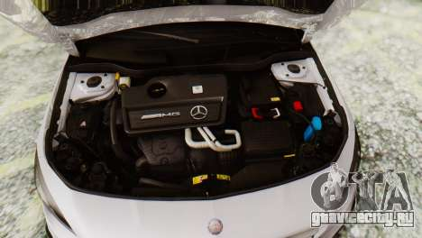 Mercedes-Benz CLA45 AMG Shooting Brakes Boss для GTA San Andreas вид сзади