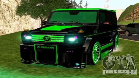 MERCEDES-BENZ G65 GELENDWAGEN AMG для GTA San Andreas