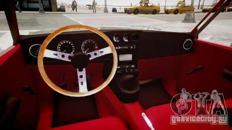 Mazda R10 для GTA 4 вид изнутри
