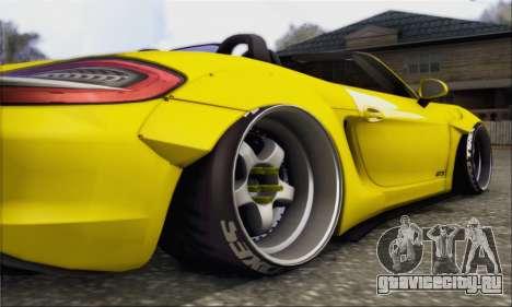 Porsche Boxter GTS L3DWork для GTA San Andreas вид сзади