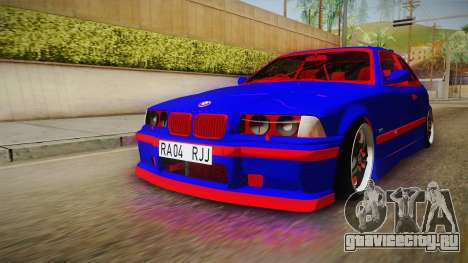 BMW 3 Series E36 Urechea Stelista Edition для GTA San Andreas вид справа