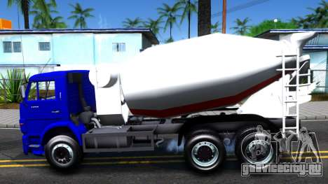 КамАЗ 65115 Автобетоносмеситель для GTA San Andreas вид слева