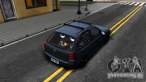 Volkswagen Gol G4 для GTA San Andreas вид сзади