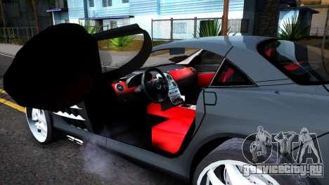 Mercedes-Benz SLR Mclaren 2011 для GTA San Andreas вид справа