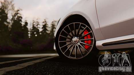 Mercedes-Benz CLA45 AMG Shooting Brakes Boss для GTA San Andreas вид справа