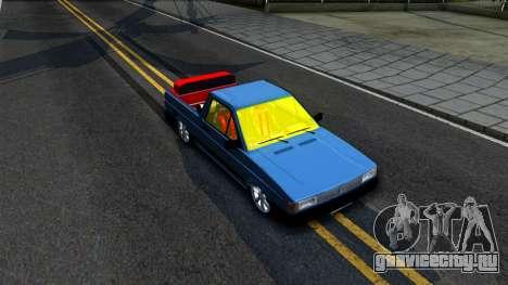 Volkswagen Saveiro для GTA San Andreas вид справа