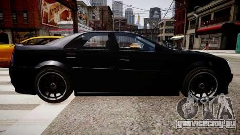 Stinger Civilian Version для GTA 4 вид сзади слева