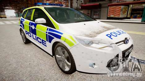 Ford Focus police UK для GTA 4
