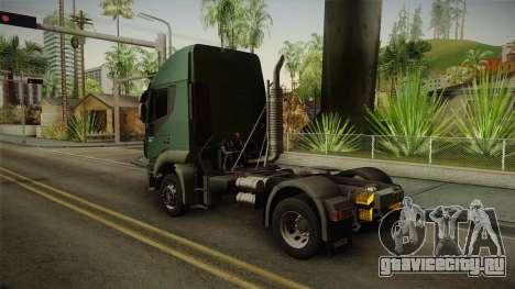 Iveco Trakker Hi-Land 4x2 Cab High v3.0 для GTA San Andreas вид слева