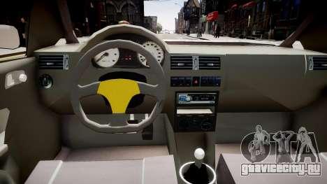 Volkswagen Golf G3 для GTA 4 вид изнутри