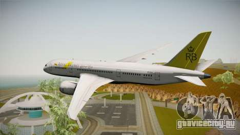 Boeing 787-8 Royal Brunei Airlines для GTA San Andreas вид справа