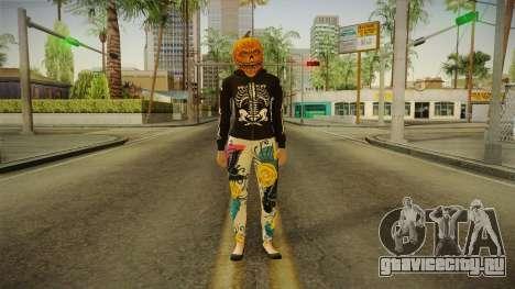 GTA 5 Halloween Skin 1 для GTA San Andreas второй скриншот