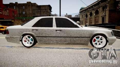 Mercedes-Benz W124 BRABUS v1.0 для GTA 4 вид слева