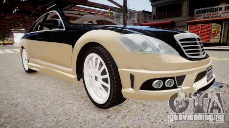 Carlsson Aigner CK65 RS Blanchimont 2008 для GTA 4 вид справа