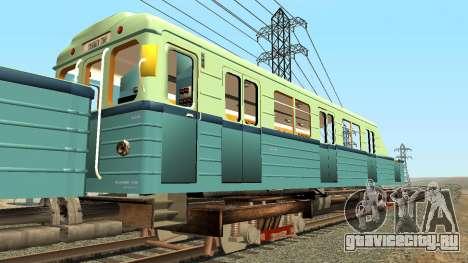 Вагон типа Е 81-703 Грузовой для GTA San Andreas