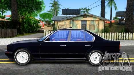 BMW E34 535i для GTA San Andreas вид слева