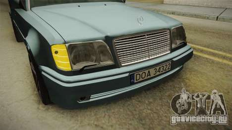 Mercedes-Benz E500 W124 AMG для GTA San Andreas вид сбоку