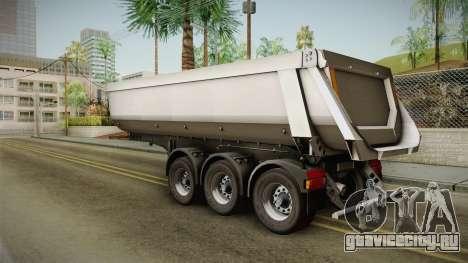 Iveco Trakker Hi-Land v3.0 Trailer для GTA San Andreas вид слева
