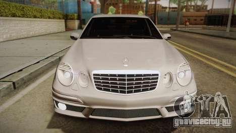 Mercedes-Benz E63 W211 AMG для GTA San Andreas вид справа