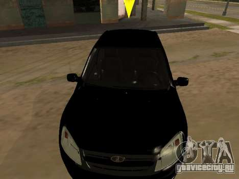 Lada Granta Armenian для GTA San Andreas вид сзади