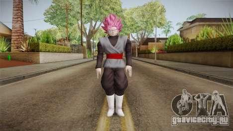 DBX2 - Goku Black SSJR для GTA San Andreas второй скриншот
